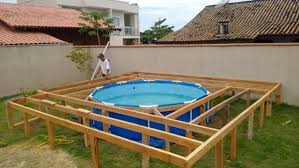 above ground swimming pool ideas. Creative Ideas Diy Above Ground Swimming Pool With Pallet Deck I