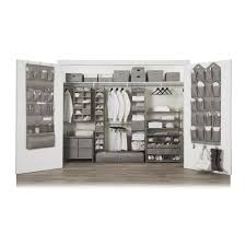 neatfreak harmony twill 6 shelf closet organizer s neatfreak closetmax system 3