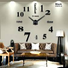 large decorative wall clocks new home decoration big mirror wall clock modern design large decorative wall