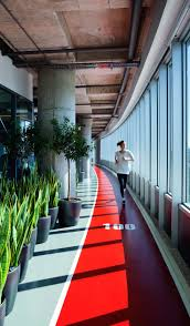 work office design. OFFICE - Indoor Track And Lots Of Plants At The Office Wellbeing Work\u2026 Work Design
