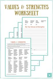 Crafting Your Personal Mission Statement for 2016 | Worksheets ...