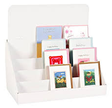 Greeting Card Display Stands Cardboard Extraordinary Amazon StandStore 32inch 32 Tier Cardboard Greeting Card