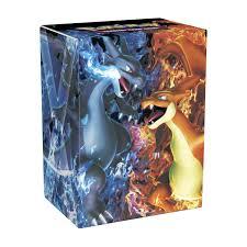 image for pokémon tcg mega charizard x mega charizard y deck box from pokemon