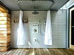 corrugated metal bathroom good wall art ideas for the home decoration definition in spanish