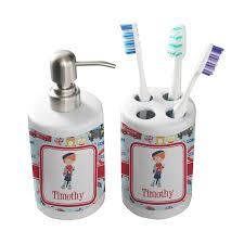 Bathroom Accessories London Bathroom Accessories Set Ceramic Personalized Potty