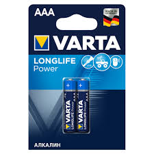 <b>Батарейка</b> алкалиновая <b>VARTA</b> HighEnergy <b>AAA</b>, 2 шт. - купите ...