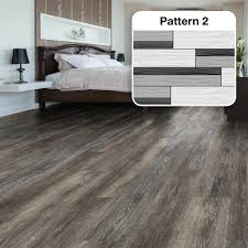 multi width x in dark grey oak luxury vinyl plank flooring sq ft case luxury