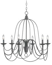 dreaded 6 light candle style chandelier image design