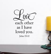 love wall decal bible verse decal love each other wall art large in wall stickers from home garden on aliexpress alibaba group on bible verses about love wall art with love wall decal bible verse decal love each other wall art large in