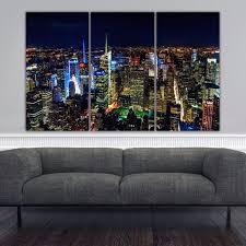on new york city skyline canvas wall art with new york city at night canvas wall art holycowcanvas