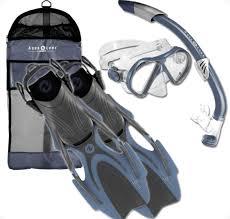 Aqua Lung Snorkel Set Review Snorkels And Fins