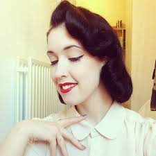 Pin Curl Hair Style alice in retrospect how to 1950s vintage pin curl tutorial 2832 by stevesalt.us