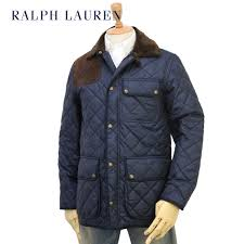 ralph lauren men s leather patch quilted jacket us ralph lauren mens quilted jacket
