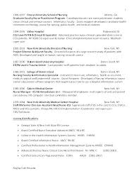 Rn Resume Example Student Resume Clinical Nurse Resume Example Nurse ...