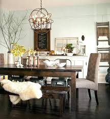 I Rustic Chic Chandelier Best Dining Rooms Ideas On  Farmhouse Dinning Room