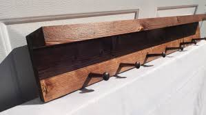 Shaker Coat Rack Reclaimed Wooden Shelf With Shaker Pegs Coat Rack Hat Rack Red 31