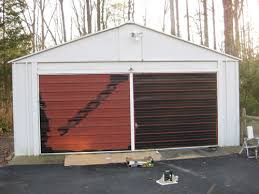 painting garage doorPainting A Garage Door Is Easy And Affordable Heres How We
