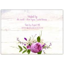 Scroll Birthday Invitations Floral Bouquet Scroll Banner 60th Birthday Invitations Paperstyle