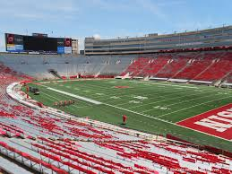 Camp Randall Student Section Seating Chart Camp Randall Stadium View From Lower Deck A Vivid Seats