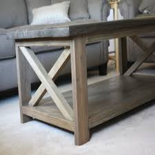 Ana White Rustic X Coffee Table Diy Projects throughout Rustic Coffee Table