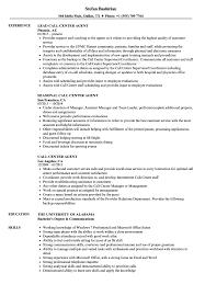 Sample Resume For A Call Center Agent Call Center Agent Resume Samples Velvet Jobs