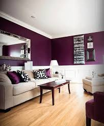 Awesome Love The Deep Purple Wall Color! I Want This Color In My Bedroom.