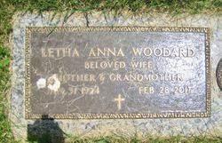 Letha Anna Mack Woodard (1924-2017) - Find A Grave Memorial