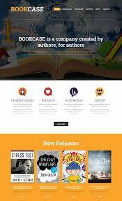 book publishing templates 25 best book website templates 2018 freshdesignweb