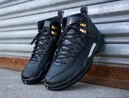 jordan shoes 12. air jordan 12 the master black gold shoes