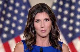 Overrun by angry mobs': S.D. Gov. Noem ...