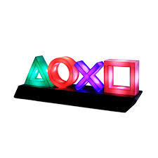 Playstation Light Paladone Playstation Icons Light With 3 Light Modes Music Reactive Game Room Lighting