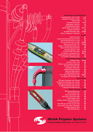 Sps Hair Colour Chart Sps Lv Mv Heat Shrink Cable Joints Terminations Full
