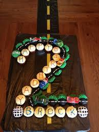 9 Disney Cars Cupcakes Birthday Cake Photo Disney Cars Birthday