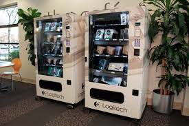 Logitech Vending Machine Simple Logitech IT Vending Machines Keep Employees WellStocked