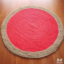 round flat weave rug zoom polo round cherry cotton flat weave rug runner