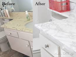 amazing transformation with marble contact paper