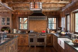 Exposed Brick Kitchen Kitchen Kitchen Farmhouse Kitchen Decor Ideas With Brick Kitchen