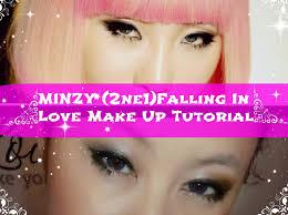minzy 2ne1 falling in love make up inspired tutorial