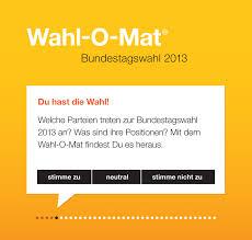 Wahlen kommen, wahlen gehen, vorher wahlomat & co. Wahl O Mat Zur Bundestagswahl Design Tagebuch