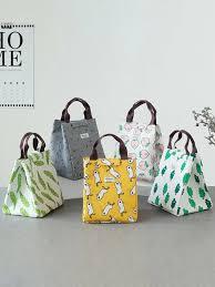 <b>Cartoon Plant</b> Print Portable Lunch Bag <b>1pc</b>   SHEIN IN