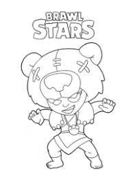 We hebben mooie plaatjes van de personages uit het supercell vechtspel brawl stars om in te kleuren. Brawl Stars Kleurplaten Topkleurplaat Nl