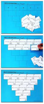 multi step equations pyramid sum puzzle