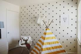 Wall Patterns With Tape Diy Washi Tape Wall Decals Emily Loeffelman