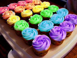 colorful cupcakes. Delighful Cupcakes Rainbow Cupcakes Maybe With Edible Glitter Or Plain Rainbow Glitter And Colorful Cupcakes