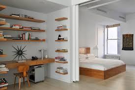 modern floating desk study