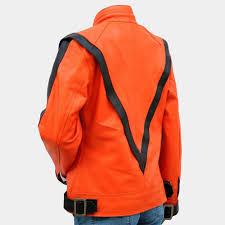 thriller leather jacket women