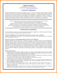 5+ best project manager resume