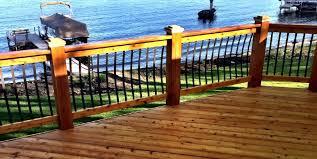 install a deck railing