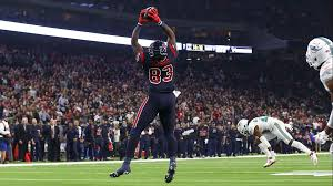 houston texans tight end jordan thomas 83 makes a reception for a touchdown during the second quarter against the miami dolphins at nrg stadium