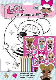 Surprise dolls auf kids n fun de. Lol Surprise The Ultimate Gift Selection Colouring Stickers Diary Stationery More Amazon Ca Home Kitchen